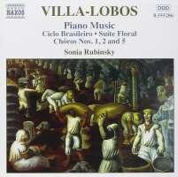 VILLA-LOBOS: Piano music vol. 3