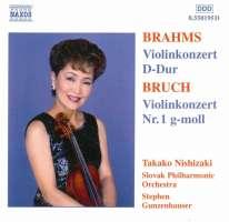 BRUCH: Violin Concerto No. 1 / BRAHMS, J.: Violin Concerto