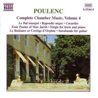 POULENC: Complete Chamber Music, Vol. 4