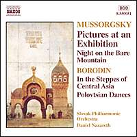 Mussorgsky;: Picturess at an Exhibit