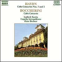 Haydn/Boccherini:  Cello Concerto
