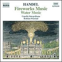 Handel:  Fireworks & Water Music