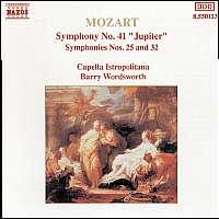 Mozart: Symphonies 41, 25 &  32