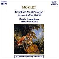 MOZART: Symphonies 38, 29
