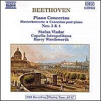 Beethoven: Piano Concertos 3&4