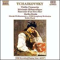 WYCOFANY  TCHAIKOVSKY: Violin Concerto
