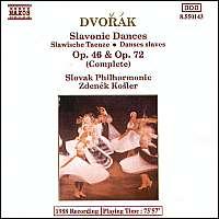 Dvorak: Slavonic Dances 46&72