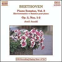 Beethoven: Piano Sonatas Vol.  3 / 8.550150