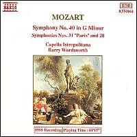 Mozart Symphonies 40, 28 & 31