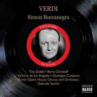 Verdi: Simon Boccanegra -1957 Recordning  (2 CD)