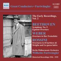 Beethoven: Symph. No. 5, Egmont,  WEBER / 8.111003