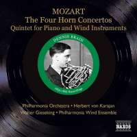 The Four Horn Concertos,  Piano & Wind Quintet