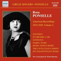 Rosa Ponselle: American Recordings Vol. 2