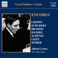 Cortot Alfred - Encores - 78 rpm Recordings