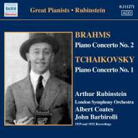 Brahms: Piano Cto No. 2 / Tchaikovsky:  Piano Cto No. 1