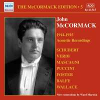 MCCORMACK  Edition Vol. 5 - The Acoustic Recordings