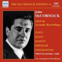 McCormak Edition Vol. 6 - The Acoustic Recordings / 8.111316