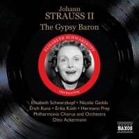 Strauss Johann: The Gypsy Baron, rec. 1954