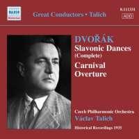 Dvorak: Slavonic Dances, Carnival, Overture, rec. 1935