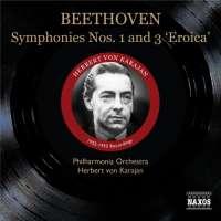 """Beethoven: Symphonies Nos. 1 & 3 """"Eroica"""", nagr. 1952-1953"""
