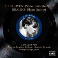 Beethoven: Piano Concerto No. 2, BRAHMS: Piano Quintet in F minor (1957 Recordings)