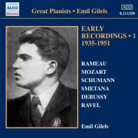 Emil Gilels: Early Recordings Vol. 1