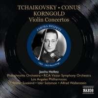 Violin Concertos,: Sarasate:  / Conus / Korngold / Tchaikovsky