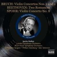 Bruch: Violin Concertos Nos. 1 & 2, Beethoven: 2 Romances, Spohr: Violin Concerto No. 8, nagr. 1951-1954
