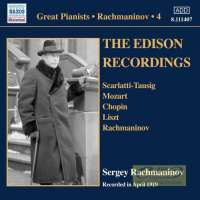 Rachmaninov: Piano Solo Recordings Vol. 4 - The Edison Recordings