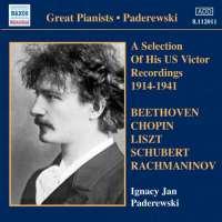 Paderewski: US Victor Recordings - 1914-1941