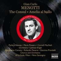 Menotti: The Consul, Amelia al ballo, nagr. 1950, 1954 (2 CD)