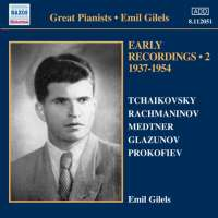 Great Pianists - Emil Gilels, Early Recordings Vol. 2, 1940-1954