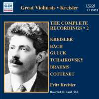Kreisler: Complete Recordings Vol. 2 (1911-1912)