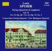 Spohr: String Quartets Vol. 15 - Nos. 19 & 22