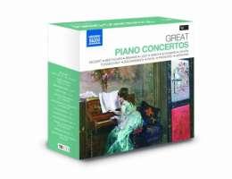 GREAT PIANO CONCERTOS (10 CD)