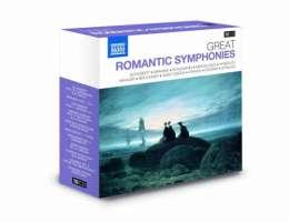 GREAT ROMANTIC SYMPHONIES (10 CD)