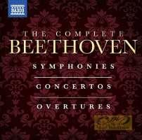 Beethoven: Complete Symphonies, Concertos & Overtures (Complete) (12-CD Box Set)