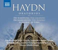 Haydn: Oratorios - Il ritorno di Tobia, Die Schopfung, Die Jahreszeiten