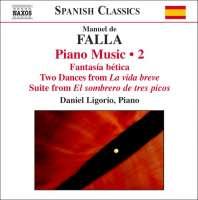 Falla: Piano Music Vol. 2