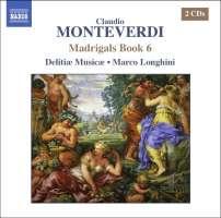 Monteverdi Claudio - Madrigals Book 6