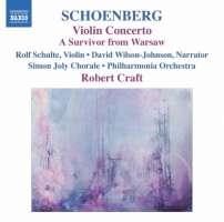 Schoenberg: Violin Concerto, A Survivor from Warsaw