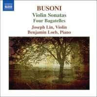 Busoni: Violin Sonatas Nos. 1 & 2