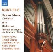 Durufle: Organ Music