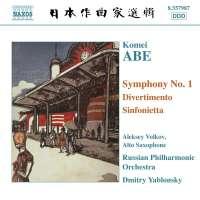 ABEi: Symphony No.1, Divertimento, Sinfonietta