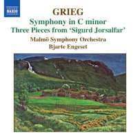 Grieg: Orchestral Music Vol. 3 - Symphony in C minor, Old Norwegian Romance