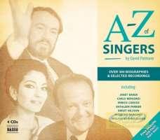 A-Z of Singers; wydawnictwo omawia kariery i nagrania ponad 300 śpiewaków