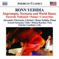 Yedida: Impromptu, Nocturne and World Dance
