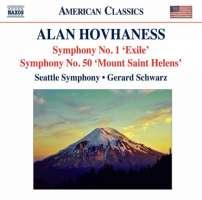 Alan Hovhaness: Symphony No. 1 'Exile' & Symphony No. 50 'Mount Saint Helens'