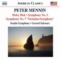 Mennin: Moby Dick - Concertato for Orchestra, Symphony No. 3, Symphony No. 7 'Variation-Symphony'