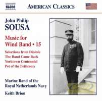 Sousa: Music for Wind Band Vol. 15